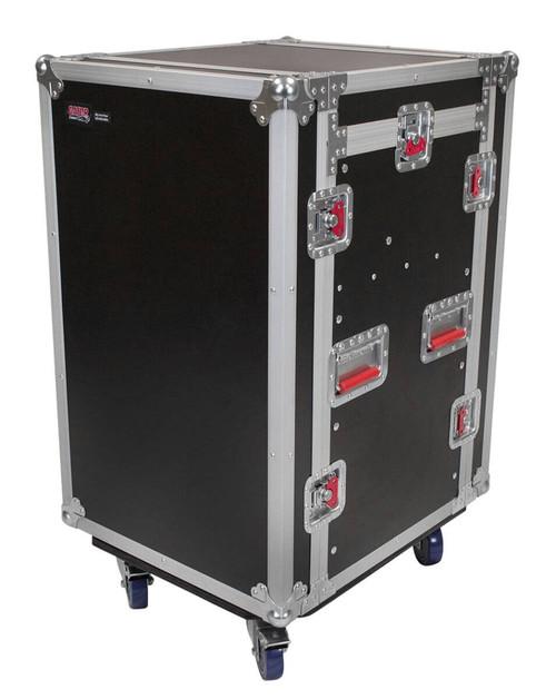 Gator G-TOUR 10X12 PU ATA Wood Flight Pop-Up Console Rack Case