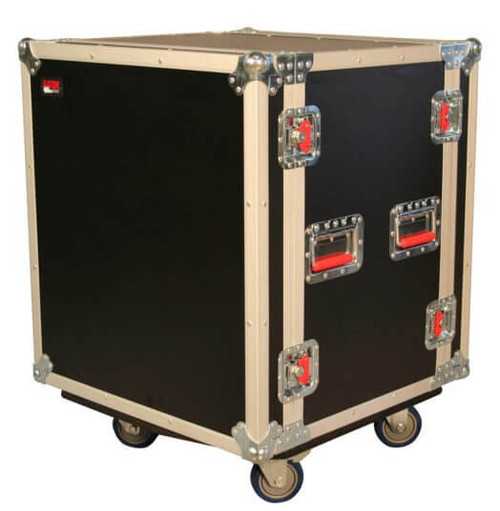 Gator G-TOUR SHK12 CA ATA Shock Wood Flight Rack Case - Front Right