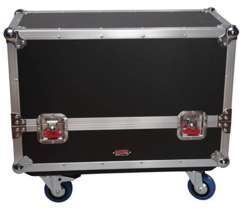 Gator G-TOUR SPKR-2K8 Dual Speaker Transport Case - Front