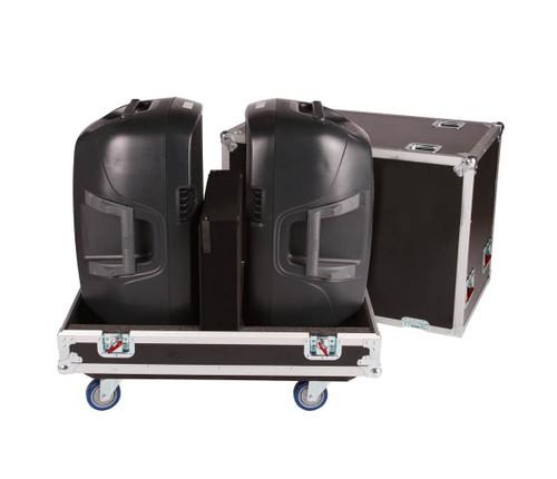 Gator G-TOUR SPKR-215 Double Speaker Tour Transport Case