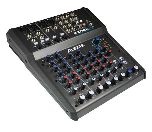 Alesis MultiMix 8 USB FX 8-Channel Desktop Analog Mixer