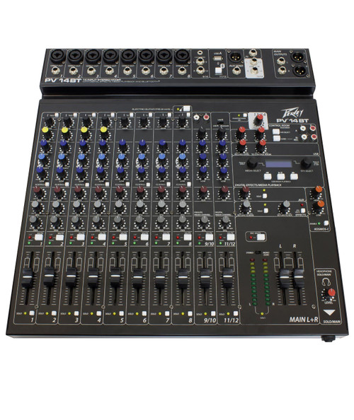 Peavey PV 14BT 14-Channel Compact Analog Mixer