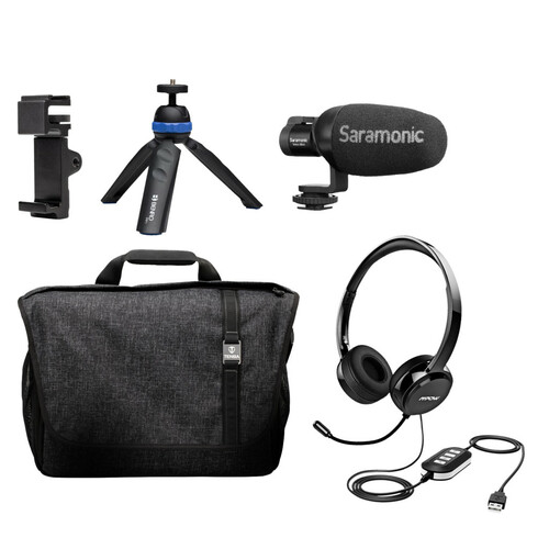 Saramonic HOMEBASE2 Personal Portable Video Conferencing Kit