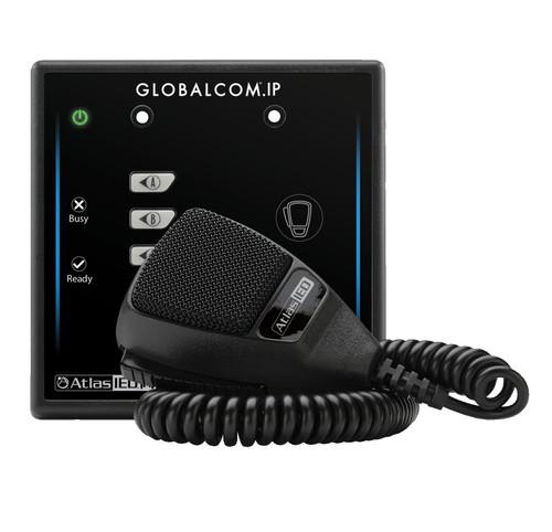 AtlasIED IPCSD4 Dante 4 Button Programmable Digital Microphone Station