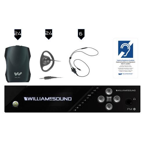 Williams AV FM 557-24 Assistive Listening System