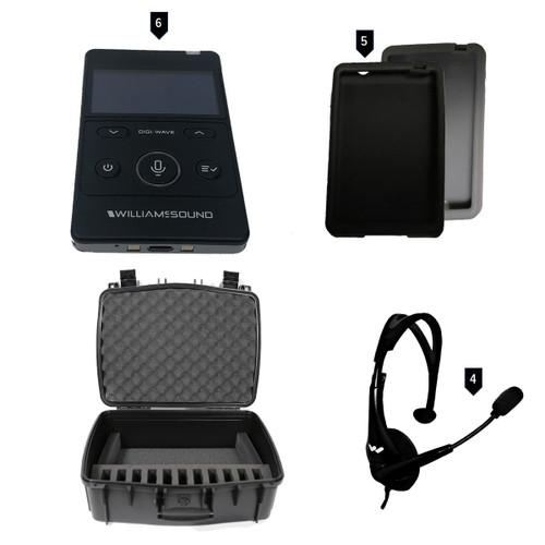 Williams AV DWS COM 6 400 Digi-Wave Wireless Intercom System