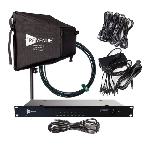 RF Venue COMB8CPB 8-Channel In-Ear Monitor Upgrade Pack