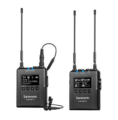Saramonic UWMIC9S-KIT1 Advanced Wireless Lavalier Microphone System