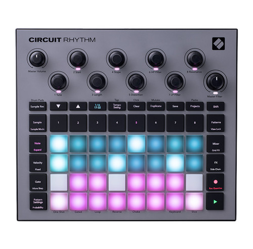 Novation Circuit Rhythm Standalone Beatmaking Sampler