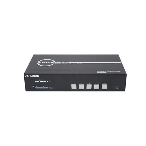 Alfatron Electronics WU4K HUB 4x1 HDMI 2.0 Switcher