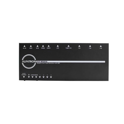 Alfatron Electronics WUK4A 4x1 4K HDMI Switcher