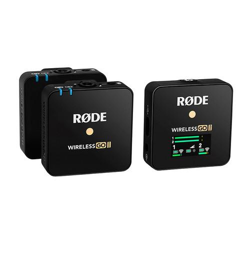 Rode Wireless GO II (WIGO II) Compact Wireless Microphone System