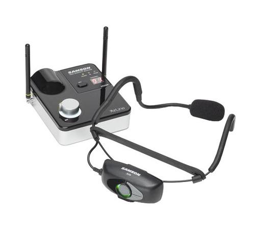 Samson SW9A9SQE AirLine 99m Wireless Fitness Headworn Microphone System