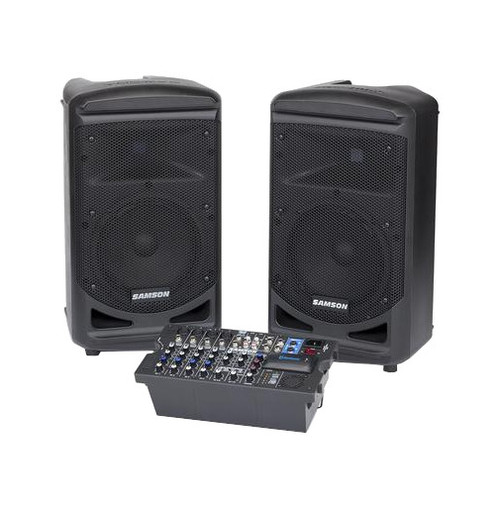 Samson Expedition XP800 2-Way Stereo Portable PA System