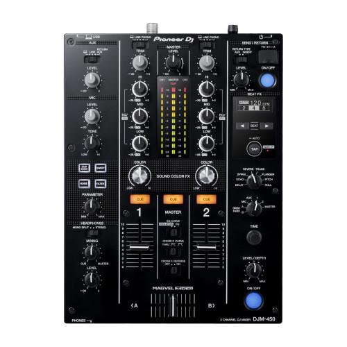 Pioneer DJ DJM-450 2-Channel DJ Mixer top