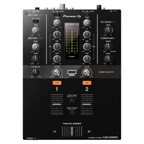 Pioneer DJ DJM-250MK2 2-Channel DJ Mixer top