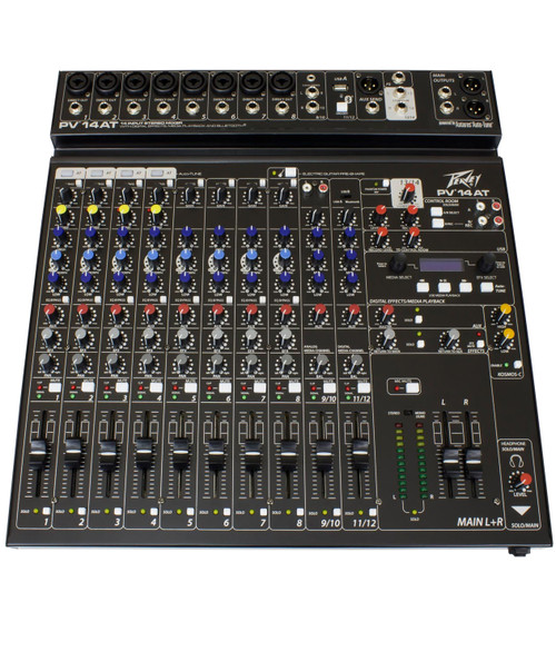 Peavey PV 14AT 14-Channel Compact Analog Mixer
