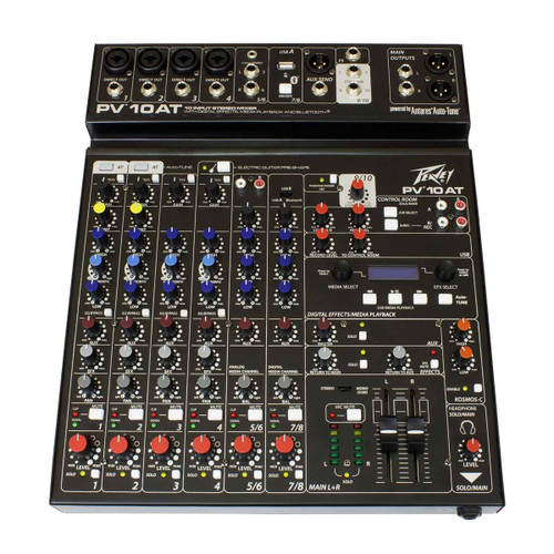 Peavey PV 10AT 10-Channel Compact Analog Mixer