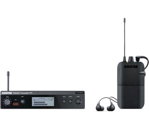 Shure P3TR112GR Wireless In Ear Monitoring Set