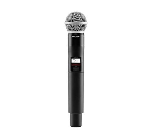 Shure QLXD2/SM58 Wireless Handheld Microphone