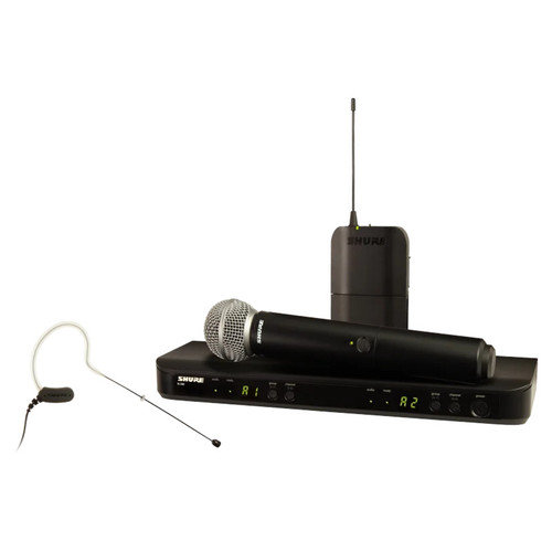 Shure BLX1288/MX153 Wireless Microphone Combo System