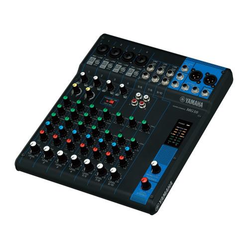 Yamaha MG010 10-Channel Analog Mixer