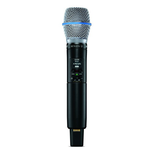 Shure SLXD2/B87A Handheld Transmitter with Beta87A Capsule