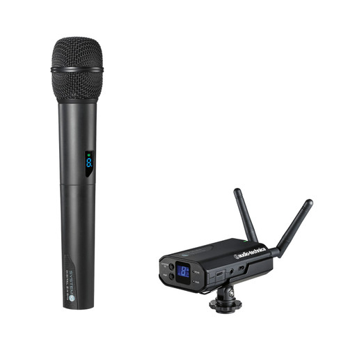 Audio-Technica ATW-1702 System 10 Camera-Mount Wireless Handheld System