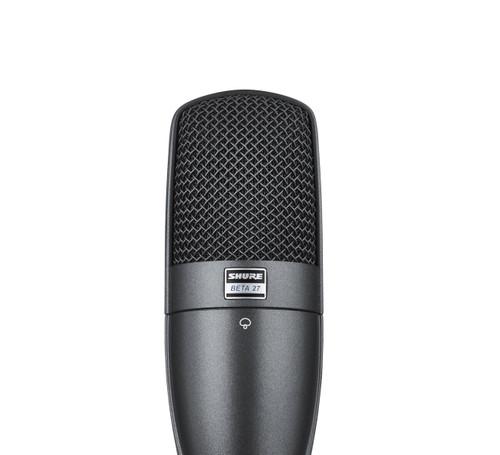Shure Beta 27 Instrument Microphone Top Front