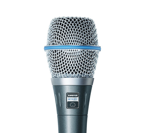 Shure BETA 87C Vocal Condenser Microphone Capsule