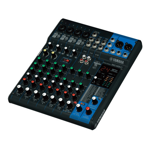 Yamaha MG10XU 10-Channel Analog Mixer with Effects and USB