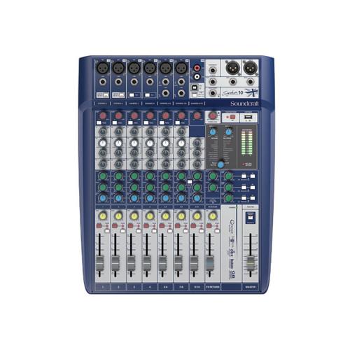 Soundcraft Signature 10 Compact Analog Mixer
