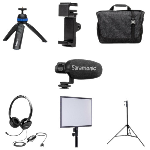 Saramonic HOMEBASE4 Personal Plus Portable Video Conferencing Kit