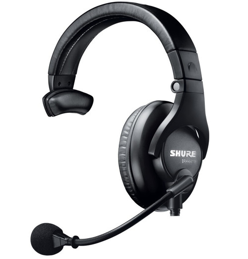 Shure BRH441M Single Sided Intercom Headset