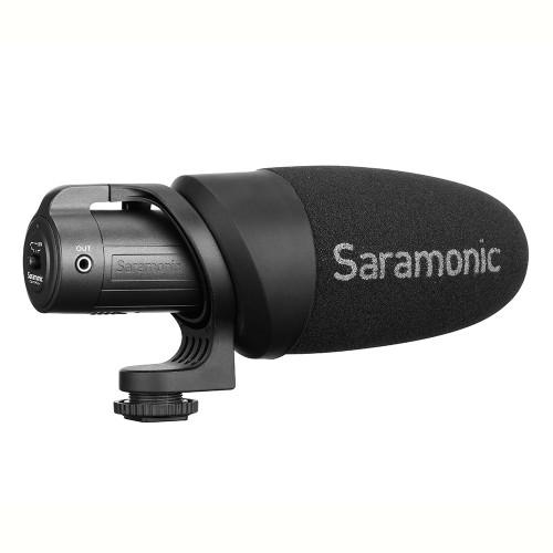 Saramonic CamMic+ On-Camera Battery-Powered Shotgun Microphone