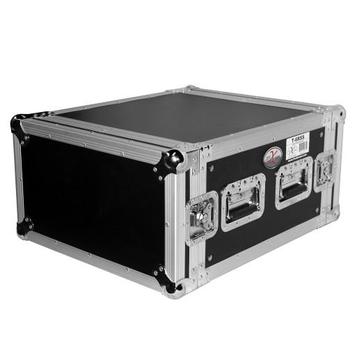 "ProX T-6RSS 6U Space Amp Rack Mount ATA Flight Case 19"" Depth"