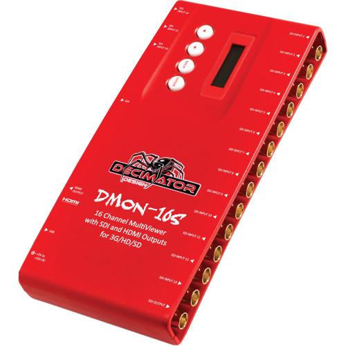 Decimator DMON-16S 16-Channel MultiViewer