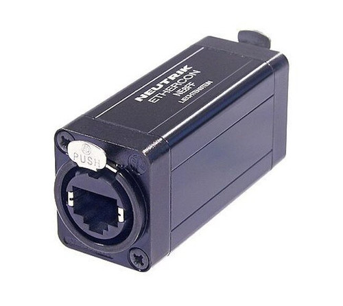 Neutrik NE8FF etherCON RJ45 Feedthrough Coupler for Cable Extensions