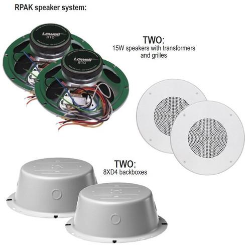 Lowell RPAK-810-72 8'' Dual Cone