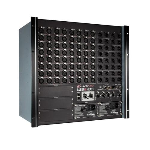 Allen & Heath dLive DM64 MixRack Digital Stagebox