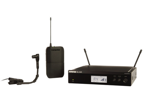 Shure BLX14R/B98 Wireless Instrument Microphone System