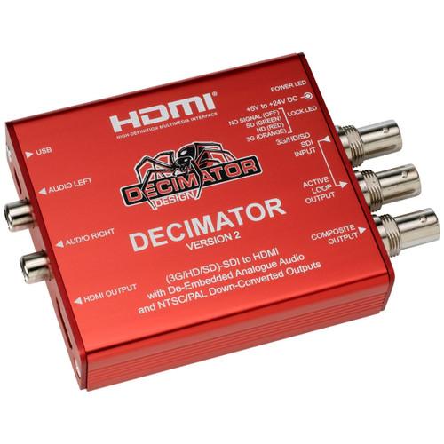 Decimator 2 SDI to HDMI Mini Converter