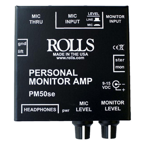 Rolls PM50s Personal Amplifier