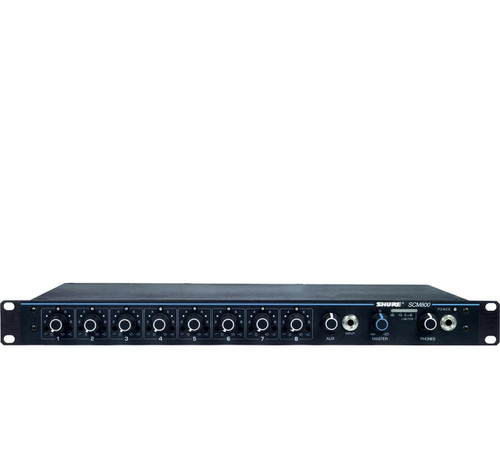 Shure SCM800 8-Channel Microphone Mixer