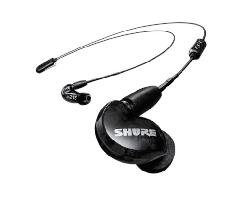 Shure SE215-K-BT1 Wireless Sound Isolating Earphones with Bluetooth, Black