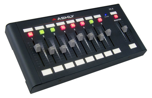Ashly FR-8 8-Channel Network Remote Faders