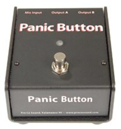 ProCo CDPB Selectable A-B & Mic Muting Switch