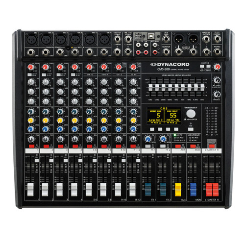 Dynacord CMS 600-3 8-Channel Compact Mixer