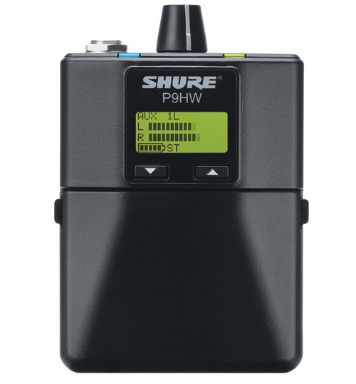 Shure P9HW Wired Bodypack Monitor