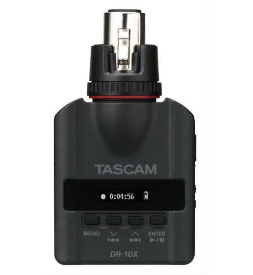 Tascam DR-10X Mic-attachable Audio Recorder front